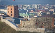 Medieval Gediminas Castle in Vilnius