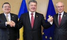 Jose Manuelis Barroso, Petro Porošenka, Hermanas Van Rompuy