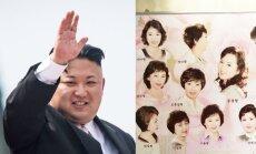 Sunku patikėti: Šiaurės Korėjoje galioja tik šios 15 šukuosenų