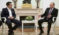 Vladimiras Putinas ir Aleksis Cipras