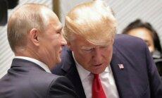 Vladimiras Putinas, Donaldas Trumpas