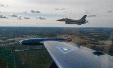 Belgium fighter jets escorting Russian fighter jets