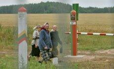 Belorussian Lithuania border