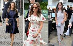 Stiliaus dosjė. Pippa Middleton – kuo jos stilius skiriasi nuo garsiosios sesers Kate
