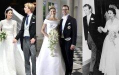 Gražiausios visų laikų karališkos vestuvinės suknelės (FOTO)