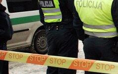 К дому главы Pabradės kartonas съехалась полиция