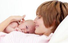 Kas neramina tėvus pirmąjį mažylio gyvenimo mėnesį