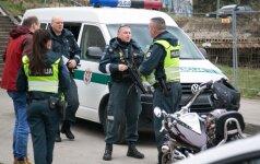 На Неменчинском шоссе мотоциклист сбил девочку