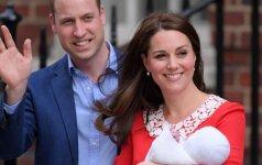 Išaušo ypatinga diena karališkajai šeimai ir mažiausiajam princui