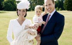 Paviešintos oficialios princesės Charlotte krikštynų nuotraukos (FOTO)