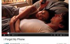 Interneto sensacija: kas nutinka, kai pamiršti mobilųjį namie? VIDEO