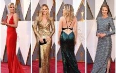 """""""Oskarų"""" stilius: pamatyk tūkstantį valandų kurtą suknelę! (FOTO)"""