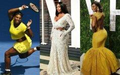 Serena Williams: myliu savo figūrą ir neketinu jos keisti