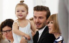 Jaudinantis Davido Beckhamo meilės prisipažinimas (FOTO)