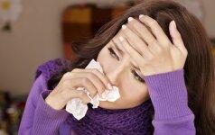 Kaip nesusirgti ir greičiau pasveikti siaučiant gripui