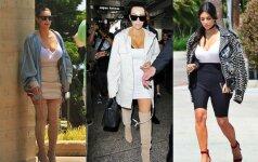 Kim aprangos triukas, kuris padeda atrodyti liekniau