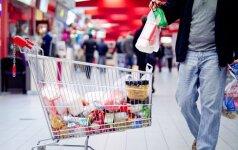 Расходы семей Литвы на основные потребительские товары в июле снизились