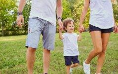 Siūloma mamadienius bei tėvadienius skirti ir vieno vaiko tėvams