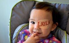 Didelė tėčio meilė dukrytei virpina internautų širdis (FOTO)