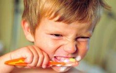 Didžiausi vaikų dantų priešai
