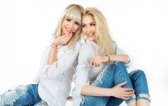 Seserys Natalija Bunkė ir Kristina Ivanova: apyrankės skirtos ieškantiems poros, norintiems pritraukti sėkmę