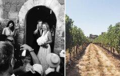 Metų vestuvės. Editos Vilkevičiūtės tuoktuvės – romantiškame vynuogyne Toskanoje (FOTO)
