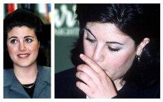 Kaip dabar atrodo garsioji Monica Lewinsky