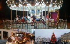 Vilnius atsisveikina su šventine nuotaika: renginiuose laukiamos šeimos su vaikais