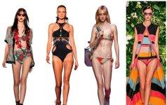 6 madingiausi maudymosi kostiumėliai