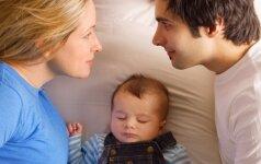 Atvirai apie vieną dažniausių bėdų, kai susilaukiame vaikų