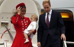 Karališkojo kūdikio pirmasis oficialus vizitas prasidėjo! FOTO