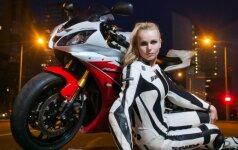 Išskirtinė moteris: kai motociklai – stipriau nei pirmoji meilė