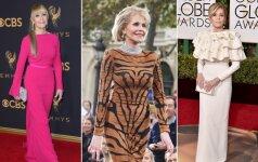Jane Fonda – 79-erių metų mados ikona, kurios stiliui negalioja amžiaus apribojimai