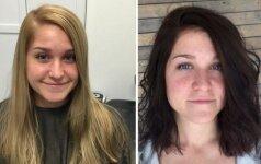 Prieš ir po: kaip šukuosena gali tave kardinaliai pakeisti