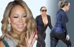 20 kg atsikračiusi Mariah Carey atrodo stulbinamai