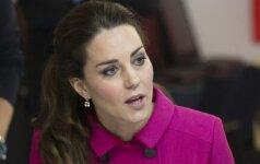Suglumusios Kate Middleton reakcija - nemirtinga!