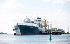В Клайпеду прибыл очередной груз сжиженного природного газа