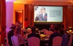 Gurmaniškoje kino vakarienėje pristatytas vasarą vyksiantis Pasaulio lietuvių jaunimo susitikimas