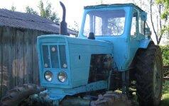 В Юрбаркском районе задержан пьяный тракторист