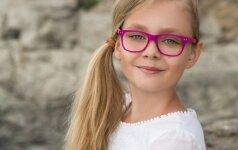 Kaip išsaugoti gerą vaikų regą, kai krūviai mokykloje tokie dideli?