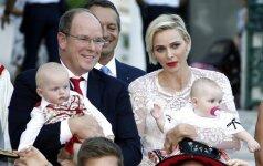 Kaip karališkieji Monako dvynukai švenčia pirmąjį gimtadienį (FOTO)
