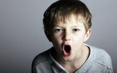 Vaikas pradėjo isterikuoti - kaip elgtis?