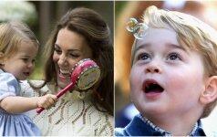 Mažieji princas ir princesė dūko vaikų šventėje (FOTO)