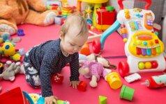 Vienerių metų vaikas namuose: patarimai tėvams