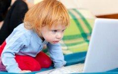 Kiek laiko prie kompiuterio nekenkia vaikui? Apklausa
