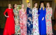 Vasaros suknelių kolekcija sudomino žinomas moteris