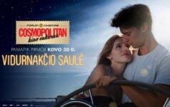 Kovo COSMOPOLITAN kino vakare – pavasariška romantika alsuojantis filmas VIDURNAKČIO SAULĖ