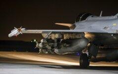 На базе ВВС Литвы меняется контингент миссии воздушной полиции НАТО
