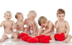 SUŽINOK: populiariausi vaikų vardai 6 didžiuosiuose miestuose TOP 10
