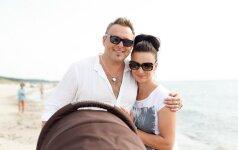 Egmontas ir Reda Bžeskai: laimingi, kaip niekad FOTO
